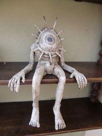 Figur, Skulptur, Keramik, Plastik
