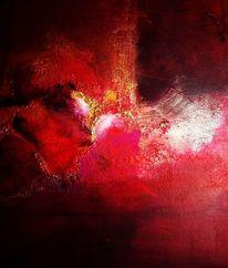 Malerei, Fantasie, Feuerwerk