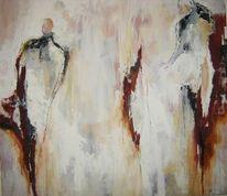 Kupfer, Weiß, Menschen, Malerei