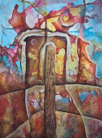 Farben, Abstrakt, Malerei,