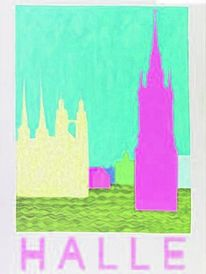 Moderne kunst, Halle, Saale, Digitale kunst