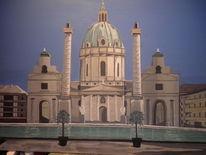 Kirche, Malerei, Wien