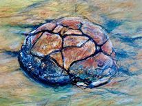 Erdfarben, Erosion, Zeichnungen,