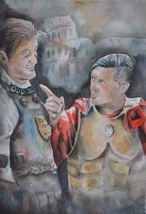 Figural, Schauspieler, Menschen, Italien