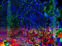 Horizont, Farben, Outsider art, Bunt