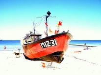 Strand, Kutter, Meer, See