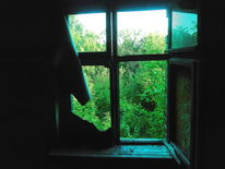 Türkis, Patina, Ruine, Outsider art