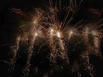Feuerwerk, Pyrotechnik, Fotografie, Konzept