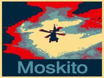 Moskito, Lügen, Mücke, Outsider art