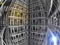 Stufe, Gebäude, Reflexion, Konstruktion