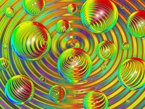 Welle, Rille, Spektralfarbe, Reflex