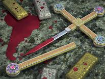 Insignie, Symbolismus, Dolch, Blut