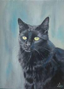 Kater, Katze, Malerei