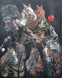 Polo, Pony, Sport, Pferde
