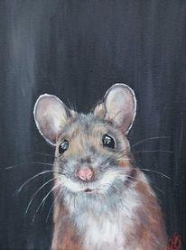 Waldmaus, Nagetier, Portrait, Maus