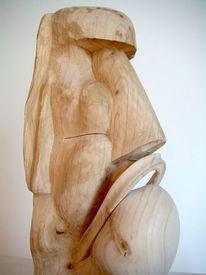 Plastiken, Abstrakte kunst, Holzskulptur, Holzbildhauer