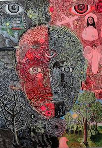 Gesicht, Welt, Manisch, Bipolar