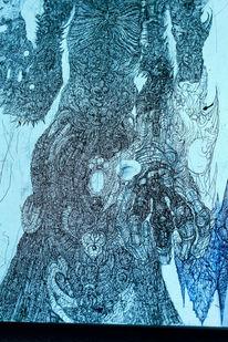Norden, Tod, Zeichnungen,