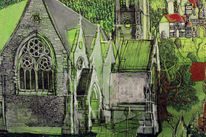 Neogotik, Steinfassade, Kirche, Irland