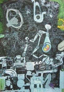 Malerei, Maschine