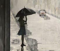 Schatten, Impressionismus, Regen, Licht