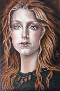 Portrait, Figural, Klassisch, Frau