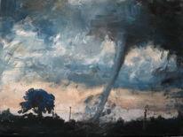 Malerei, Tornado