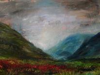 Landschaft, Schottland, Malerei