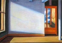 Hopper, Magritte, Pastellmalerei, Zeichnungen