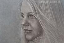 Zeichnungen, Personenportraits, Frau