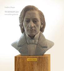 Frederic chopin, Plastik, Skulptur