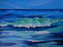 Wasser, Welle, Türkis, Meer