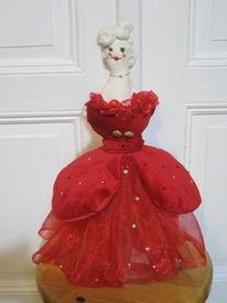 Frauenfigur, Spezifisch, Epoche, Rot