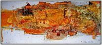 Aquarellmalerei, Tusche, Abstrakt, Ohne titel