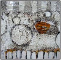 Marmormehl, Sumpfkalk, Schellack, Aquarellmalerei