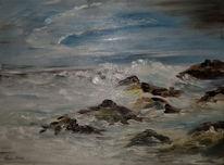 Ölmalerei, Malerei