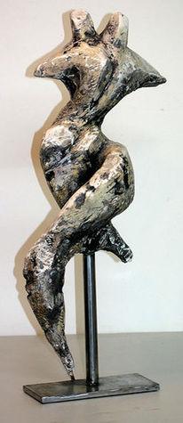 Gips, Modern, Skulptur, Plastik
