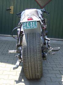 Kunsthandwerk, Metall, Motorrad, Schrott