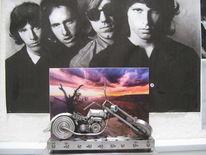 Tür, Metall, Rider, Schrott und kunst