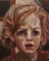Kreuz, Johannes der täufer, Junge, Malerei