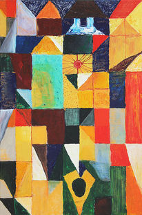 Vielfalt, Geometrisch, Farbfeldmalerei, Symbol