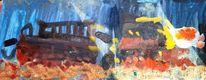 Edelweiß, 9 jahre, Kind, Temperamalerei