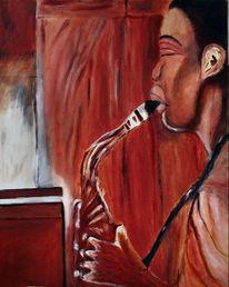 Jazz, Üben, Musik, Malerei