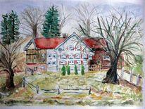 Bayer, Typisch, Landhaus, Haus