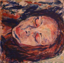 Portrait, Die frau, Malen, November
