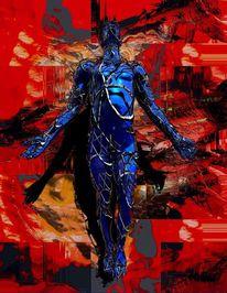 Funktion, Freak, Blau, Gegensatz