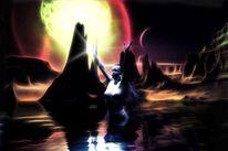 Omega, Mond, Seele, Physik
