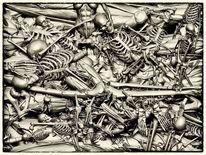 Menschlichkeit, Terror, Gewissen, Digitale kunst