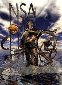 Sammler moderne kunst, Render, Digital, Fantasie