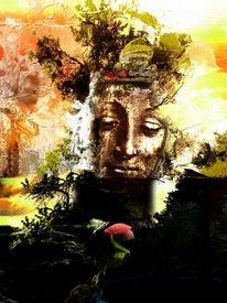 Digital, Render, Fantasie, Sammler moderne kunst
